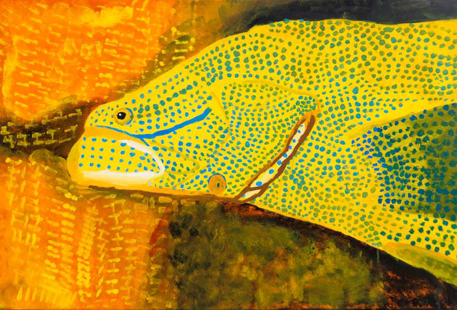 AU-LArche-_Brisbane-Andrew_Pemberton-Reef_Fish-92x61.5-Acrylic_on_canvas-2011