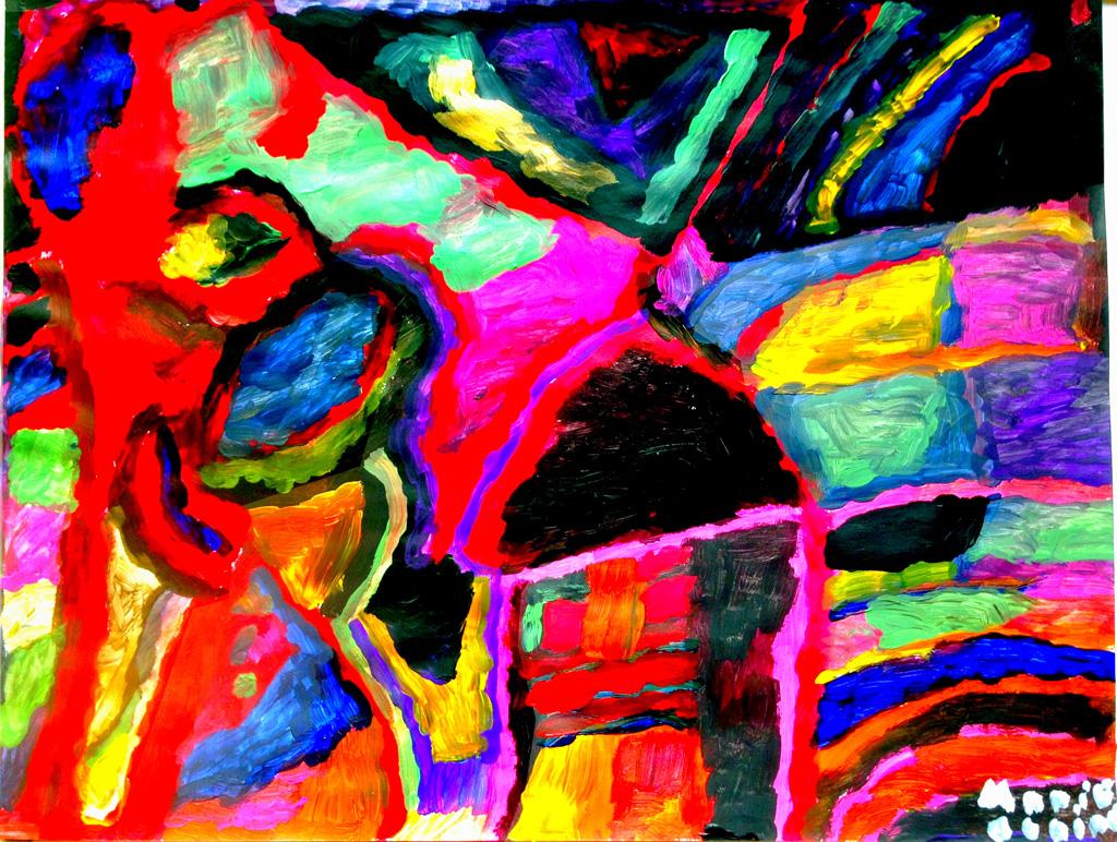 FR-LArche_Le_Moulin_de-lAuro-Marie_Claire_Pezzoli-Il_etait_une_fois_un_moulin-50x65-Acrylique-2014