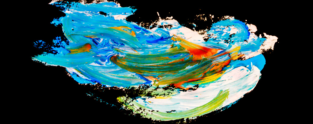 GB-LArche_London-Toni_Leahy-Abstract-Watercolour_on_black_paper-43x17-2009