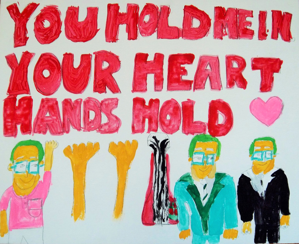 US-Larche_Atlanta-Terry_Hochschild-Hands_Hold-Acrylic_paint_on_canvas-2013